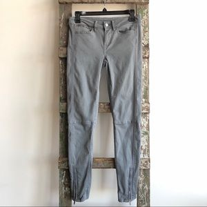 Calvin Klein Jeans Gray Pants with Zippers